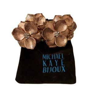 Michael Kaye Bijoux Rose Gold Eden Bracelet
